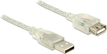 DeLock USB 2.0 Cable USB-A male - USB-A female 1m (83881)