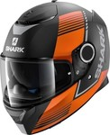Shark Spartan Arguan_mat / Black Orange Silver/kos