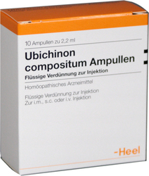 Heel Ubichinon Compositum 10 x 2.2 ml