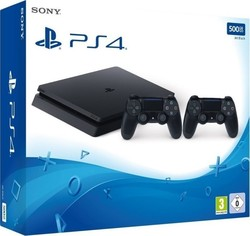Sony Playstation 4 (PS4) Slim 500GB & DualShock 4