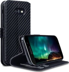 Terrapin Low Profile Wallet Black Carbon Fibre Texture (Galaxy A5 2017)