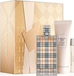 Burberry Brit Eau de Parfum 50ml & Body Lotion 50ml & Eau de Toilette 2.5ml