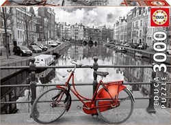 Amsterdam Netherlands Black White 3000pcs (16018) Educa