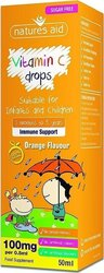 Natures Aid Vitamin C 100mg 50ml