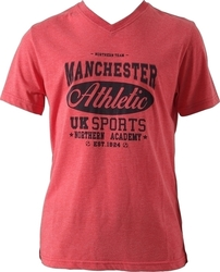 Umbro V-Neck 66757E-Red Mel