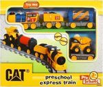 Toy State Preschool Express Train Cat
