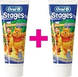Oral-B Stages Winnie the Pooh 2x75ml