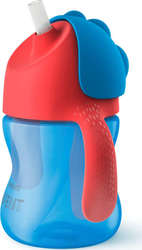 Philips Bendy Straw Cup 200ml 9m+ Blue