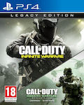 Call Of Duty Infinite Warfare (Legacy Edition) & Modern Warfare Remastered PS4