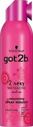 Schwarzkopf Got2b Spray Mousse 2 Sexy Big Volume 250ml