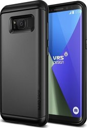 VRS Design Thor Back Cover Πλαστικό Γκρι (Galaxy S8+)