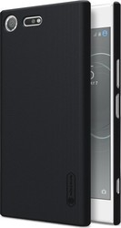 Nillkin Super Frosted Back Cover Πλαστικό Μαύρο (Xperia XZ Premium)