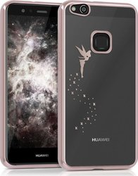 KW Back Cover Σιλικόνης Διαφανές Fairy Rose Gold (Huawei P10 Lite)