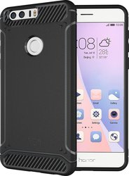 Tudia Rugged Armor Tough Back Cover Composite Μαύρο (Honor 8)