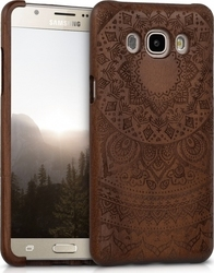 KW Natural Wood Indian Sun Walnut Dark Brown (Galaxy J5 2016)