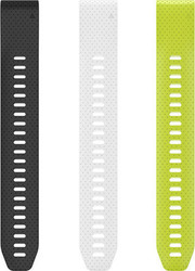 Garmin 3-Pack of QuickFit 20 Silicone Watch Attachment Bands