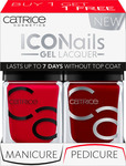 Catrice Cosmetics Iconails Gel Lacquer Duo Pack 05 It's All About That Red & 03 Caught On The Red Carpet
