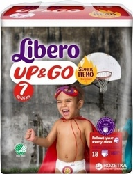 Libero Up & Go Super Hero Edition Νο 7 (16-26kg) 18τμχ