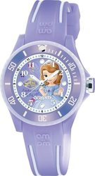 am:pm Disney Sofia Two Tone Rubber Strap DP186-K470