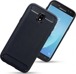 Terrapin Carbon Fibre Back Cover Μαύρο (Galaxy J5 2017)