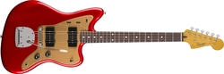 Squier Deluxe Jazzmaster With Tremolo Candy Red