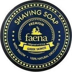 Faena Shaving Soap Tallow Greek Skinos 150gr