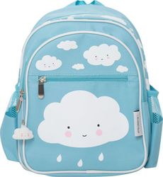 Little Lovely Company Backpack: Cloud - Blue BGBL004