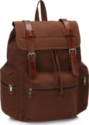 LS Bags Coffee Backpack Rucksack LS00443