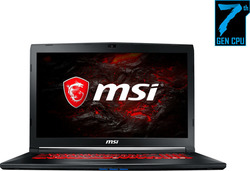 MSI GL72M 7RDX (i7-7700HQ/8GB/1TB + 128GB/GeForce GTX 1050/FHD/W10)
