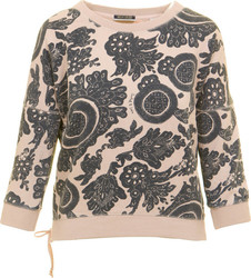 MAISON SCOTCH W LOOSE SWEAT IN VARIOUS SWEATERS - 138461-19