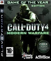 Call of Duty 4 Modern Warfare (Game of the Year) PS3