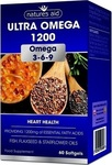 Natures Aid Ultra Omega 1200 Omega 3-6-9 60 μαλακές κάψουλες