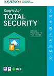 Kaspersky Total Security 2018 (3 Licences , 2 Years) Key