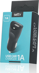 Setty USB car charger 1A