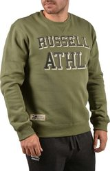Russell Athletic Double Applique Crew A7-604-2-218