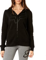 FOX CERTAIN ZIP HOOD BLACK