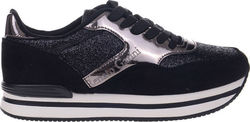 EXE SNEAKERS R16004-BLACK
