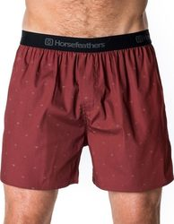 HORSEFEATHERS FRAZIER BOXER SHORT RUBY