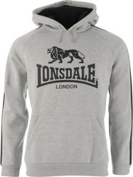 Lonsdale Two Stripe 535002 Grey