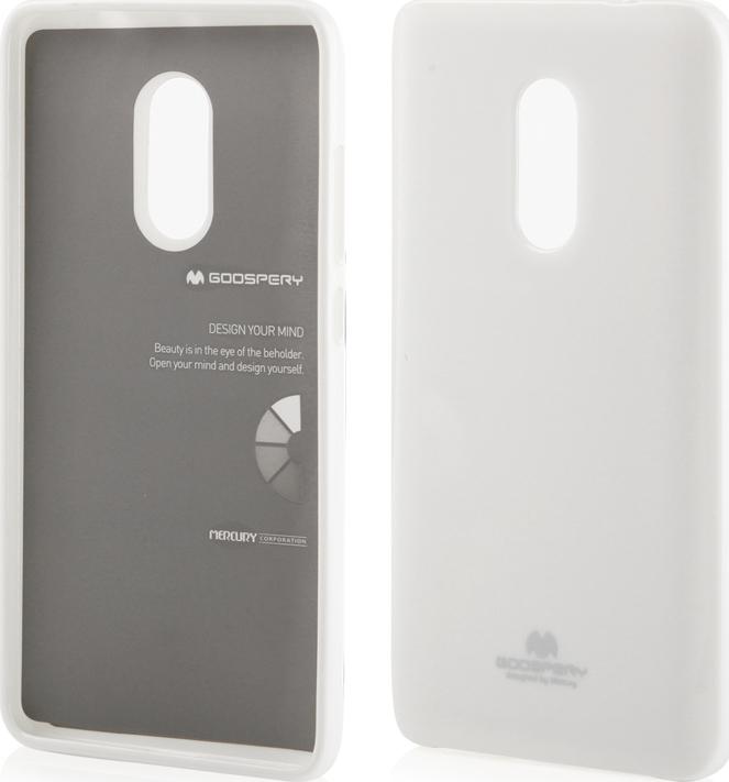 first rate 5859f eae4f Mercury Jelly Λευκό (Xiaomi Redmi Note 4)