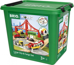 Brio Toys Large City & Cargo Set