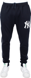 MAJESTIC Φόρμα FLEECE PIPING JOG PANT NAVY