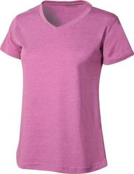Etirel Basic V Neck SS Tee 582602 Purple