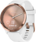 Garmin Vivomove HR (White/Rose Gold)