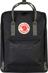Fjallraven Kanken Royal Blue Pinstripe Pattern