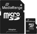 MediaRange microSDXC 128GB Class 10 with Adapter