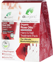 Dr.Organic Rose Otto Hand & Nails Treatment Pack