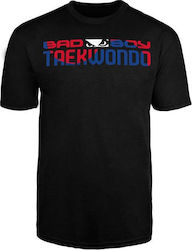 ΑΝΔΡΙΚΟ ΜΠΛΟΥΖΑΚΙ BAD BOY TAEKWONDO DISCIPLINE T-SHIRT - BLACK