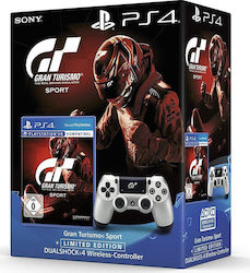 Sony DualShock 4 Controller GT Sport Limited Edition (New) + GT Sport Standard Edition
