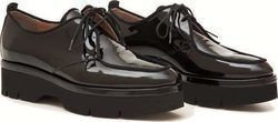 Δερμάτινα Oxfords Art 29 Black Shiny W18-29-01